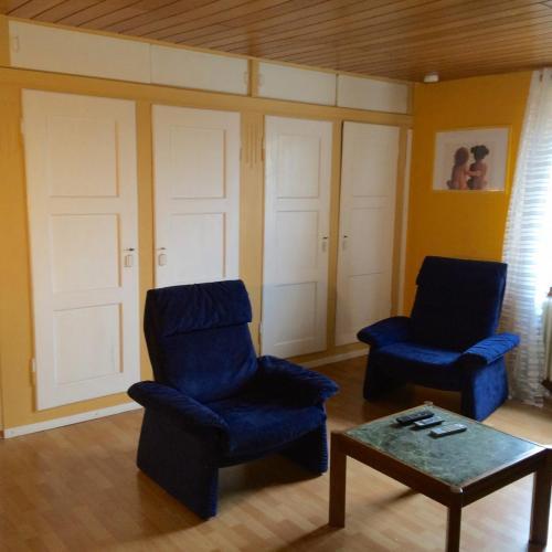 Wandschrank im Wohnzimmer